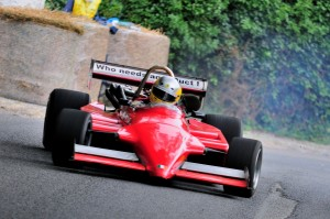 Simon McKinleyin action at Naul Hillclimb August 2013~1